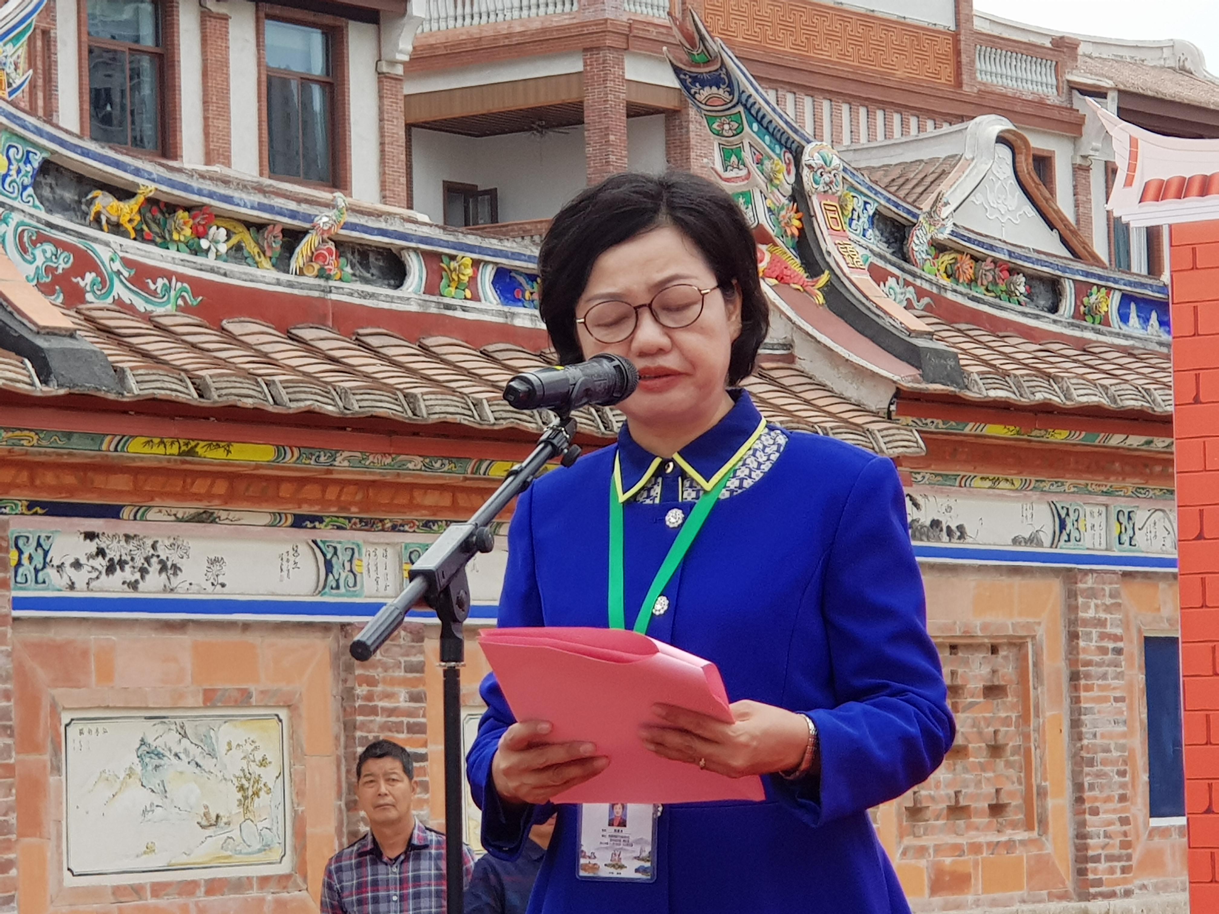 漳州市委宣傳部副部長、閩南日報社社長陳惠貞